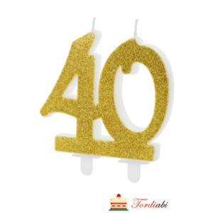 Tordiabi kuldne küünal 40