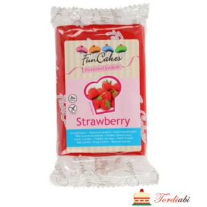 Tordiabi maasikamaitseline punane suhkrumass