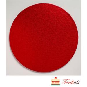 Tordiabi punane ümmargune tordialus