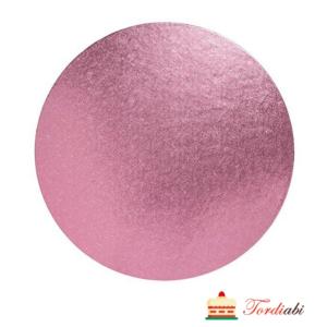 Tordiabi roosa ümmargune tordialus
