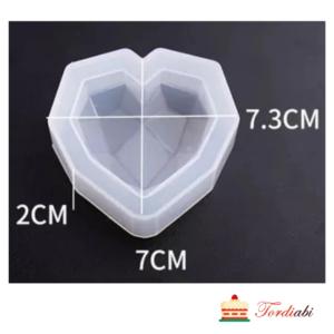 Tordiabi silikoonvorm teemantsüda