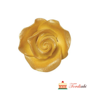 Tordiabi suhkrumassist kuldne roos