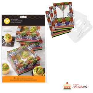 Tordiabi värviline muffinikarp 4-le muffinile