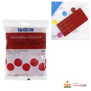 PME punased šokolaadinööbid sulatusglasuur