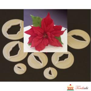 Tordiabi jõulutäht plastmassvorm lõikur