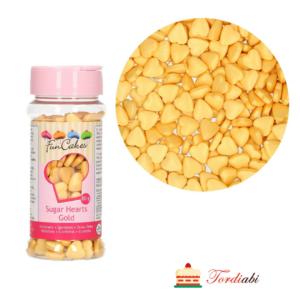 Tordiabi kuldsed südamed suhkrust puiste