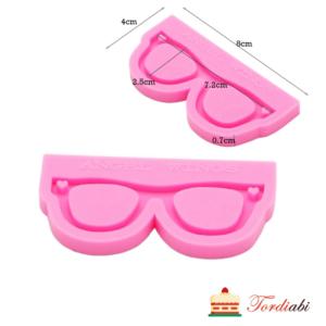 Tordiabi silikoonvorm prillid