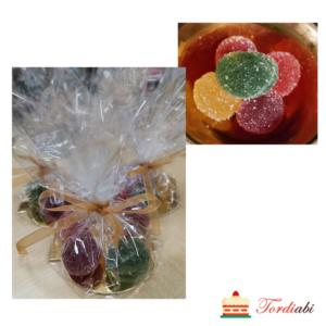 Tordiabi värvilised marmelaadipallid jõuludeks