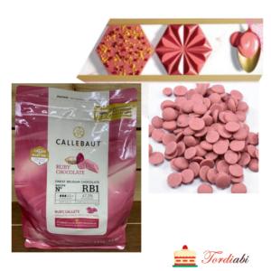 Tordiabi Callebaut RUBY punane