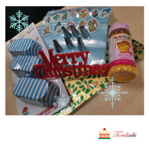 Tordiabi kinkekomplekt MERRY CHRISTMAS