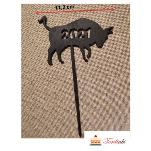 Tordiabi puidust topper härg 2021