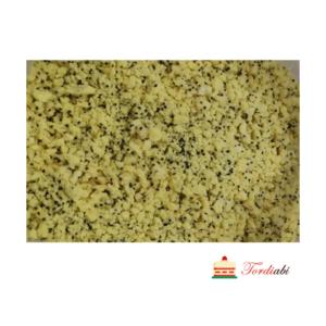 Tordiabi krõbe sidruni-mooniseemne puru