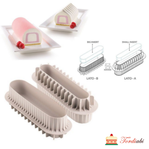 Tordiabi Silikomart 3D Design vorm