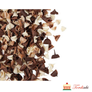 Tordiabi šokolaadikrussid puru valgest ja tumedast šokolaadist