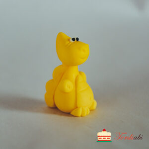 Tordiabi suhkrust draakon kollane
