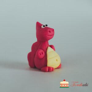 Tordiabi suhkrust draakon punane