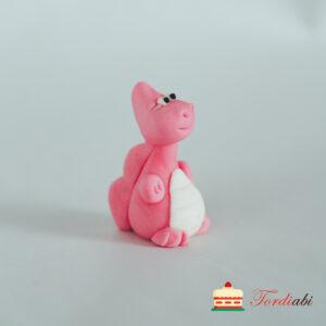 Tordiabi suhkrust draakon roosa