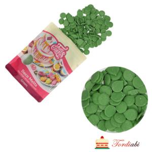Tordiabi sulatusglasuur rohelised nööbid FunCakes