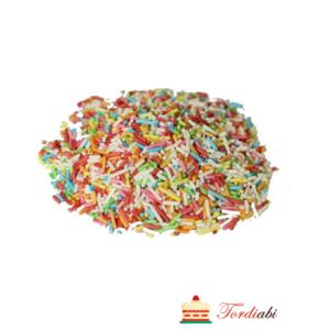 Tordiabi värvilised suhkruribad