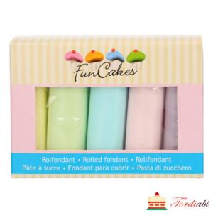 FunCakes suhkrumasside komplekt pastell 5x100g