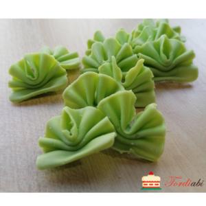 Tordiabi šokolaadidekoor rohelised lehvikud