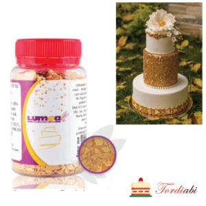 Tordiabi tordikaunistus sädelev söödav kullapuru