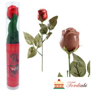 Tordiabi šokolaadist roos kinkepakendis