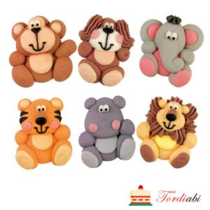 Tordiabi suhkrudekoor - loomaaia loomad