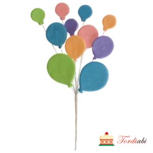 Tordiabi suhkrudekoor õhupallid kimbuga