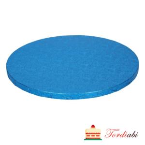 Tordiabi ümmargune tordialus sinine 30,5 cm paksus 12 mm