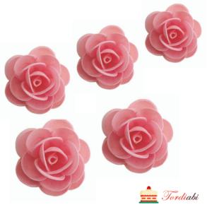 Tordiabi vahvlidekoor 5 roosat roosi