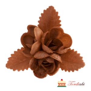 Tordiabi vahvlidekoor sokolaadine roosikimp