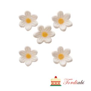 Tordiabi väikesed valged lilleõied 5 tk