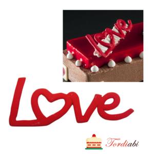Tordiabi 2D suhkrudekoor Love