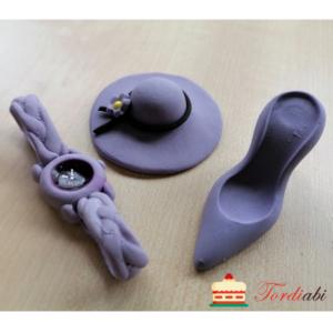 Tordiabi daami komplekt kübar käekell king lilla