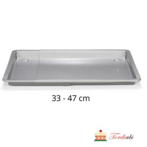 Tordiabi reguleeritav ahjuplaat Patisse 33-47 cm