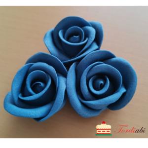 Tordiabi suhkrudekoor sinised roosid