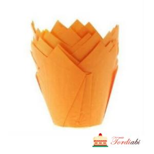 Tordiabi muffini küpsetusvorm tulp oranž
