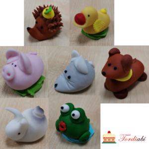 Tordiabi suhkrudekoor 7 looma