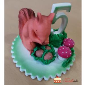 Tordiabi suhkrudekoor number 5 oravaga
