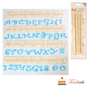 Tordiabi tähed numbrid šabloon vorm FMM