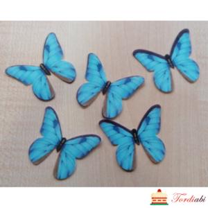 Tordiabi vahvlidekoor sinised liblikad