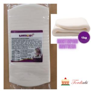 Tordiabi valge suhkrumass martsipani maitsega LUMEA 1 kg