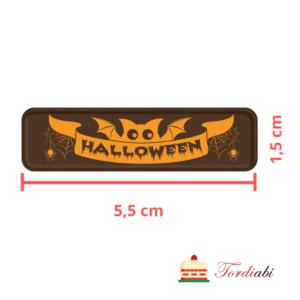 Tordiabi Halloweeni šokolaadilogo nr 1