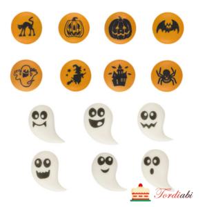 Tordiabi halloweeni suhkrudekoorid muffinitele 14 motiivi