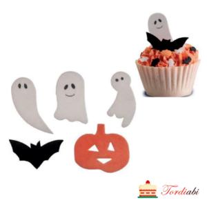 Tordiabi halloweeni vahvlidekoorid muffinitele