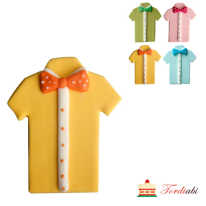 Tordiabi kollane triiksärk kikilipsuga suhkrudekoor