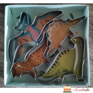 Tordiabi metallvormid lõikurid dinosaurused