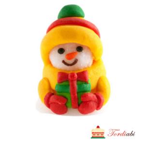Tordiabi pehme suhkrudekoor lumememm jõuluvärvides