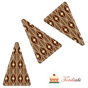 Tordiabi šokolaadidekoor triangel kolmnurgad